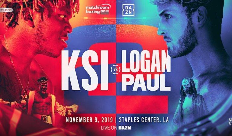 KSI AND LOGAN PAUL REMATCH LIVE ON DAZN