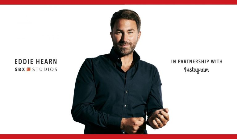 MATCHROOM AND EDDIE HEARN PARTNER WITH  FACEBOOK AND INSTAGRAM