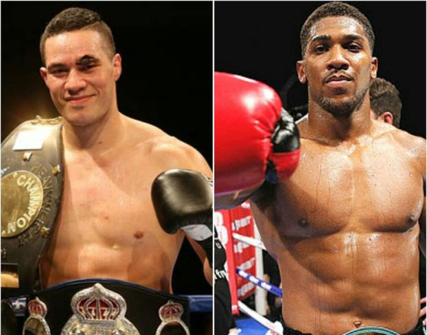 Image result for Joseph Parker and Anthony Joshua