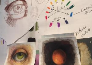 Teaching Eye Sphere Pastels
