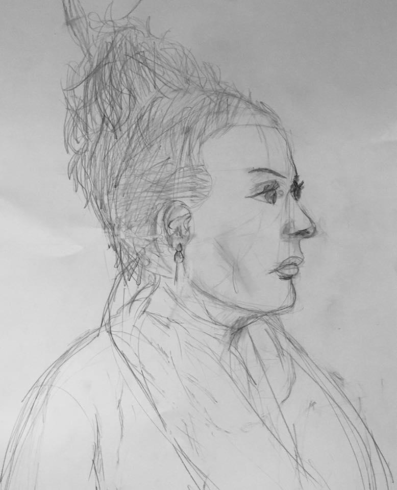 Juniors Drawing Portrait 2