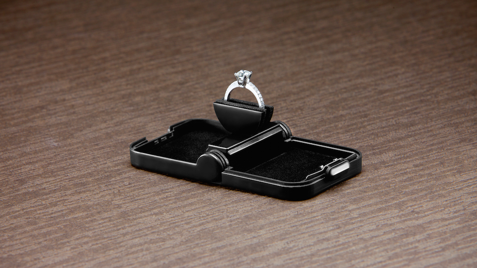 Slim Engagement Ring Box