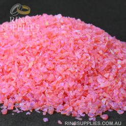 Mexican Pink Crushed Opal Chips