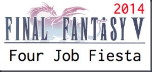 Final Fantasy V Four Job Fiesta Logo