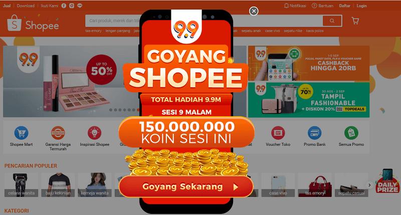 Cara Goyang Shopee Biar Dapat Koin Banyak