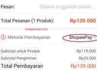 Cara Menggunakan Shopeepay