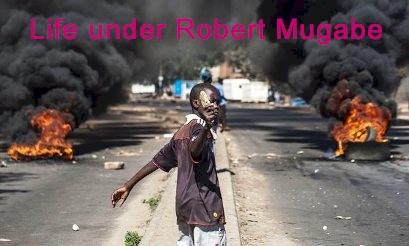 Life under Robert Mugabe mid 2016