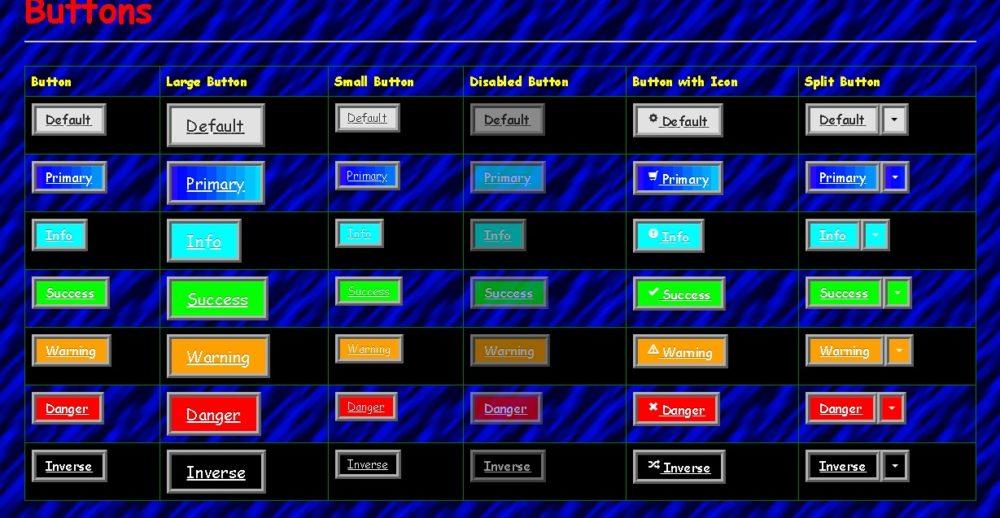 web1.0ボタンデザイン