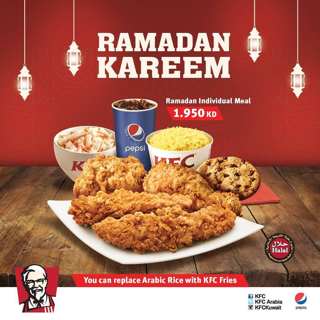 Kfc Kentucky Fried Chicken Lebanon Menu
