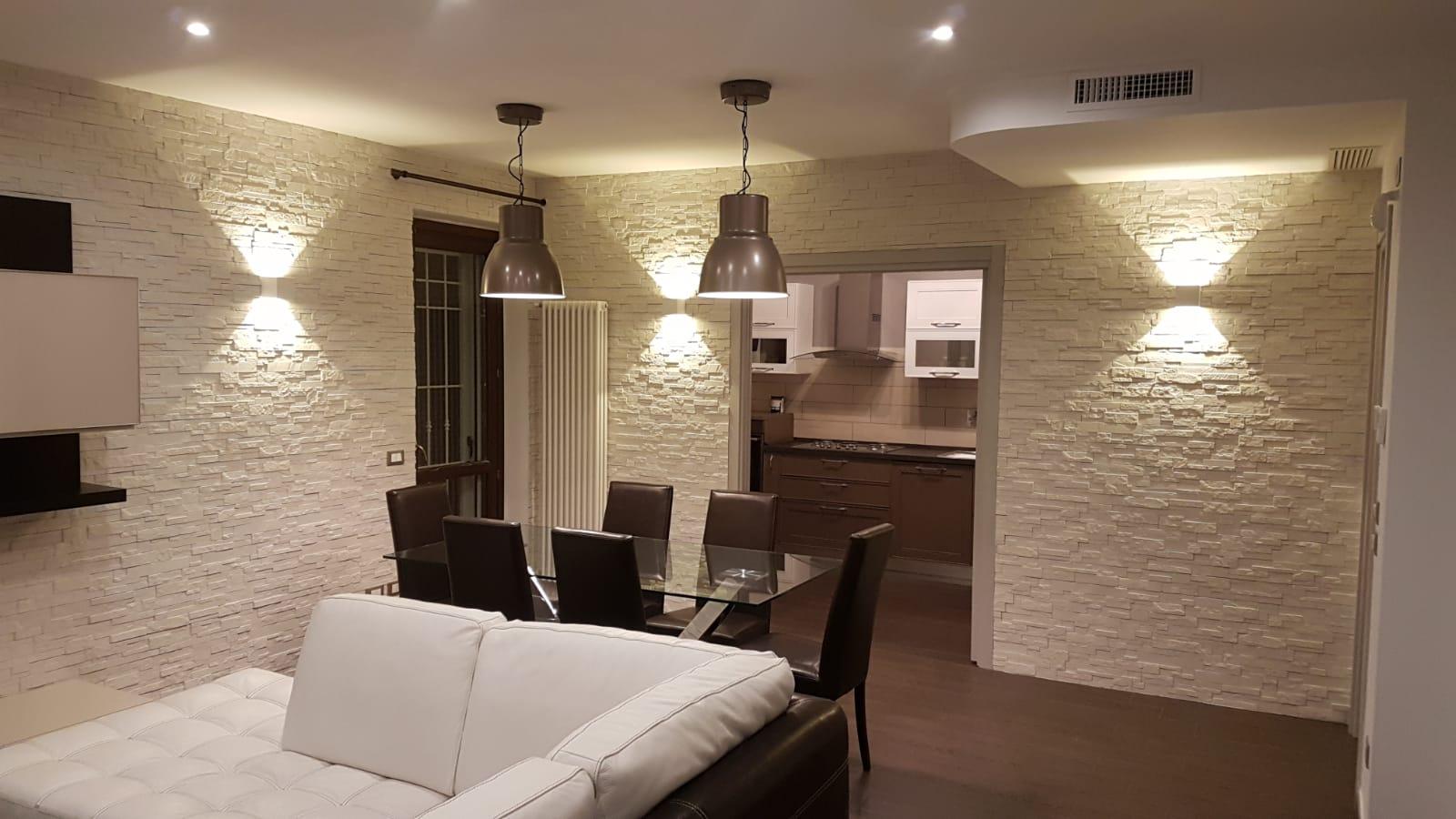 1001 idee per pareti in pietra in tutti gli ambienti. Il Soggiorno Rinnovare Con La Pietra