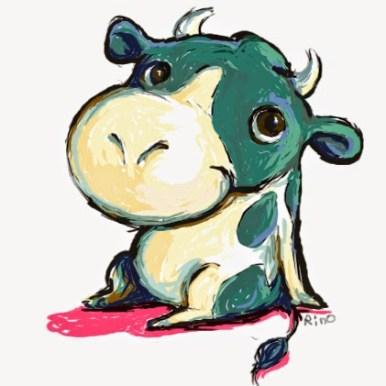 牛さん /Photoshop
