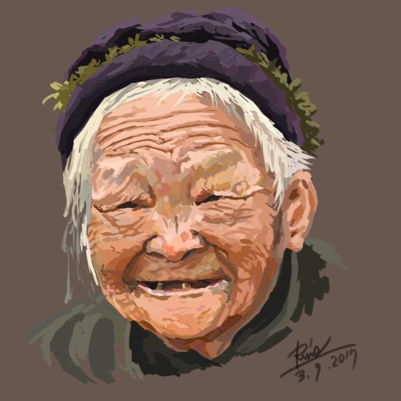 【花冠シリーズ】中国人のおばあちゃん
