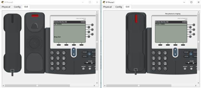 Konfigurasi VoIP dengan Cisco Packet Tracer