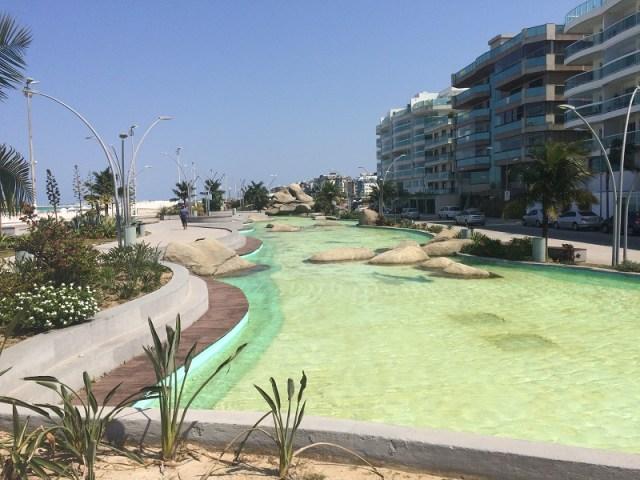 A nova Praça das Águas