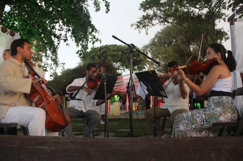 Quarteto de cordas para casamentos e eventos