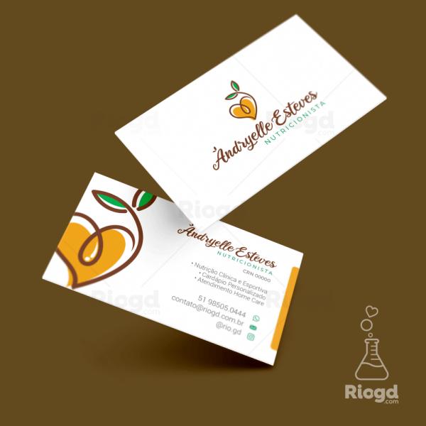 Cartão de Visita NutriPop Health