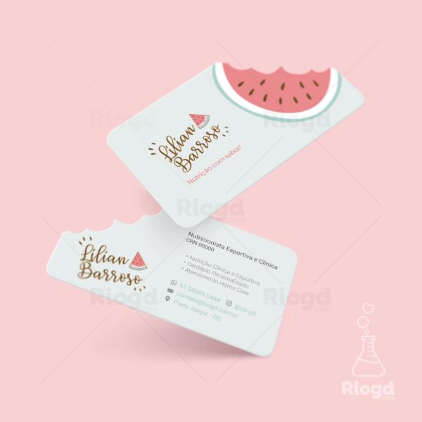 Cartão de Visita Juice Watermelon