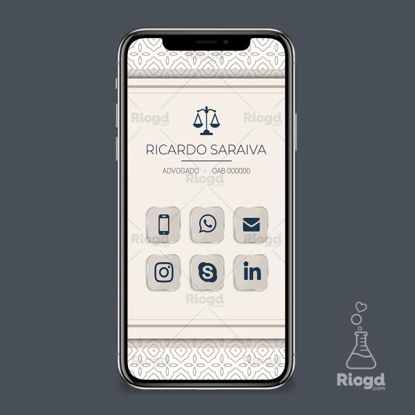 Cartão Digital Advocacia Meca