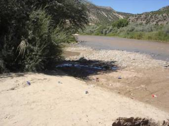 3. The entire riparian area became a maze of spur roads for ORV's, motorcycles and 4x4's. All the beautiful spots by the Rio Grande became trashed out picnic areas.