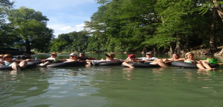 River Rafting and Tubing Adventure in Guadalupe River,TX