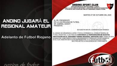 Photo of Andino jugará el Regional Amateur