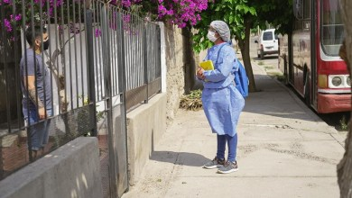 Photo of Después de Olta y Aimogasta; ahora en Chilecito buscan personas con sintomatología Covid19
