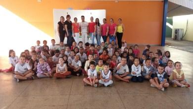 """Foto de ENCERRAMENTO DO """"PROJETO FOLCLORE NA EDUCAÇÃO INFANTIL EM RIOLÂNDIA""""."""