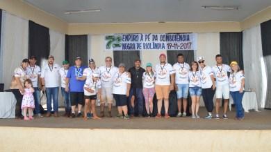 Foto de 7° Enduro à Pé foi realizado em Riolândia, para celebrar o dia da Consciência Negra.