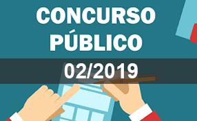 Foto de EDITAL RESULTADO FINAL E HOMOLOGAÇÃO DO CONCURSO PÚBLICO N.º 02/2019