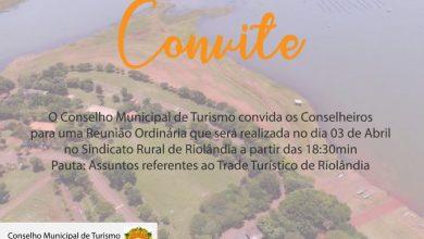 Foto de Convite COMTUR: Reunião ordinária dos Conselheiros