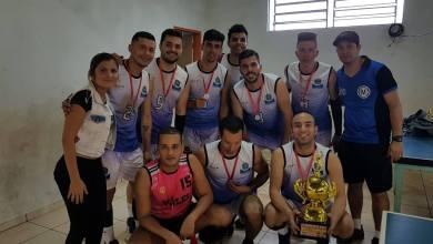 Foto de Campeões do 2º Torneio de Volei Masculino de Riolândia