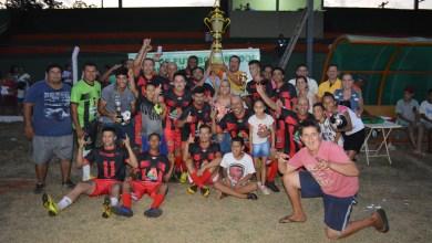 Foto de final da 1° Copa de Futebol Amador Regional de Riolândia