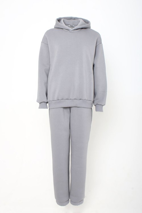 костюм спортивный подростковый серый