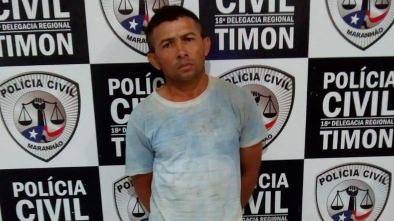 Polícia prende padrasto que estuprou enteada durante 10 anos em Timon