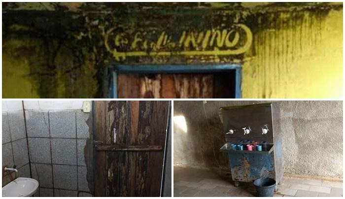 Em Joca Marques pais denunciam péssimas condições de escola do município