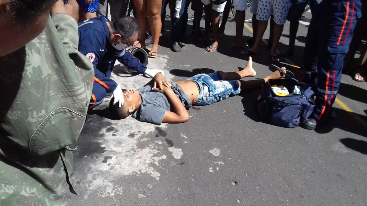 Jovem é baleado por policial durante tentativa de assalto em Teresina