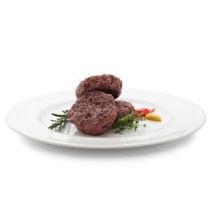 Mini Carne de Hambúrguer de Picanha 46g Assada