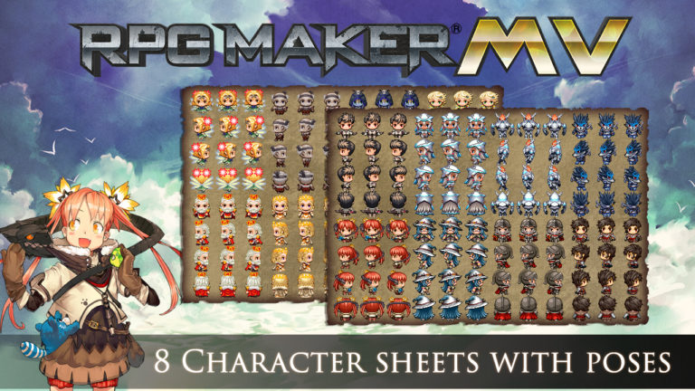RPG Maker MV 1.6.2 Crack + DLC Pack Download Full Free Working
