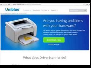 Uniblue Driver Scanner 1