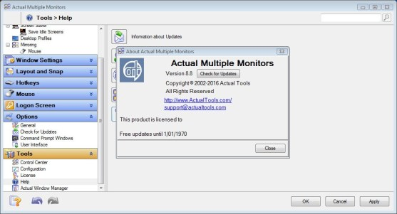 Actual Multiple Monitors 8 11 3 Crack + License Key Download