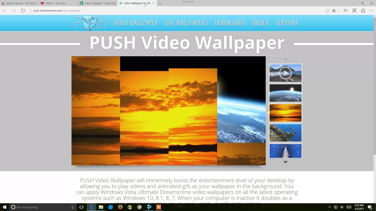 Push Video Wallpaper 4.03 Crack +License key Download