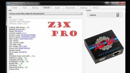 Z3X Samsung tool Crack