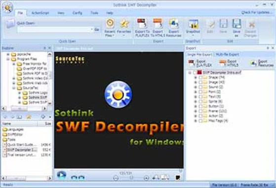 Sothink SWF Decompiler Crack