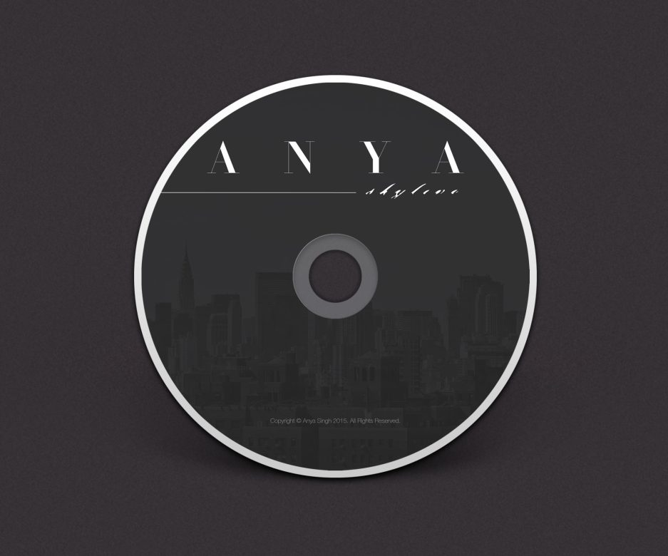 ANYA   CD Jacket Design - NYC