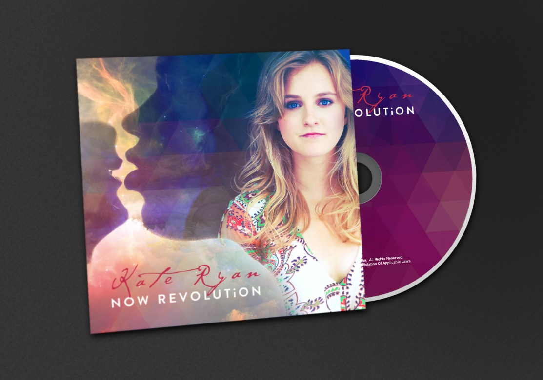 Kate Ryan | Now Revolution: Branding & Creative Direction - Front Cover In Situ