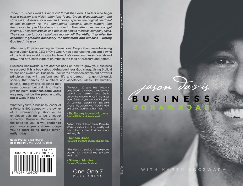 Jason Davis | Business Backwards Branding & Book Cover Design: Both Covers