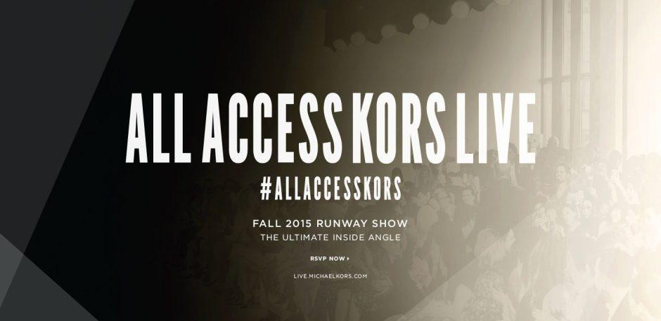 Michael Kors | All Access 2014 Teaser Film