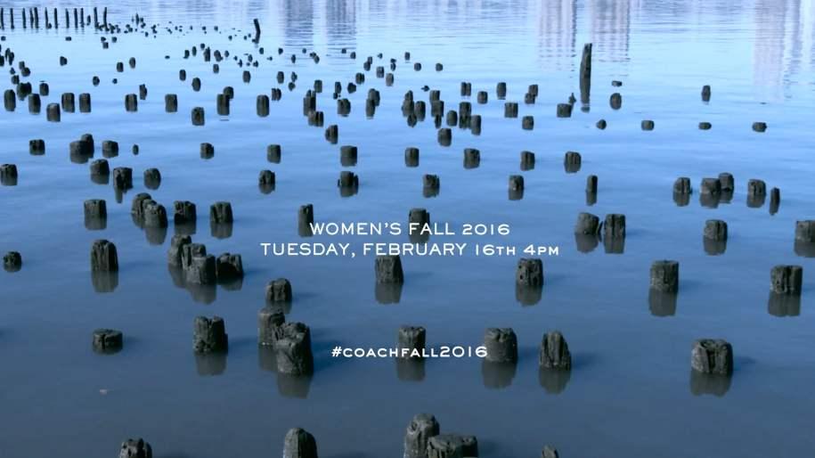 Coach | New York Fashion Week - Women's Fall 2016 Runway Show Live Stream: Trailer