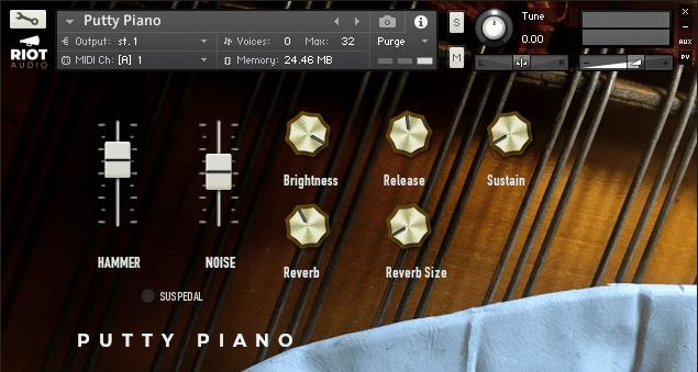 Putty Piano Kontakt Instrument