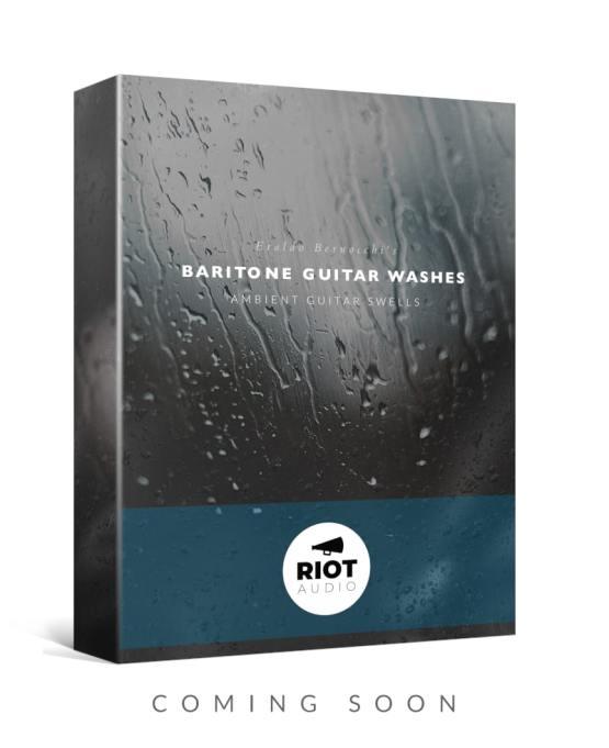 Baritone Guitar Washes | Ambient Guitar Swells ft. Eraldo Bernocchi